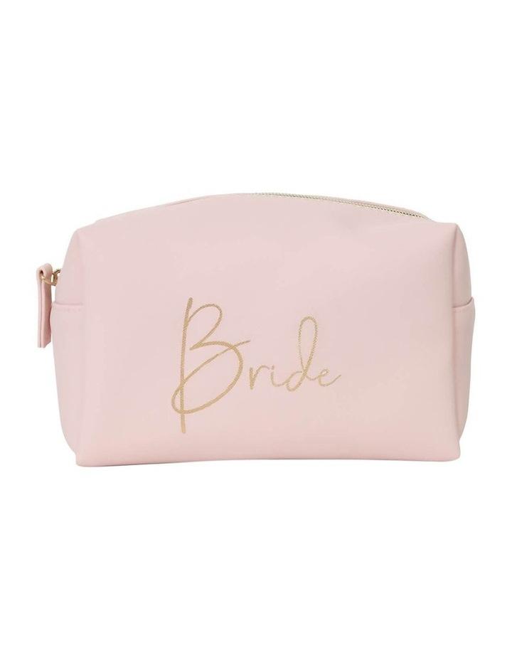 Wedding Bride Small Cosmetic Bag image 1