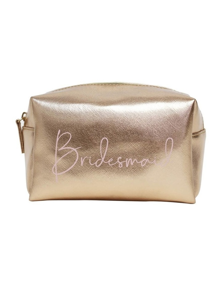 Wedding Bridesmaid Small Cosmetic Bag image 1