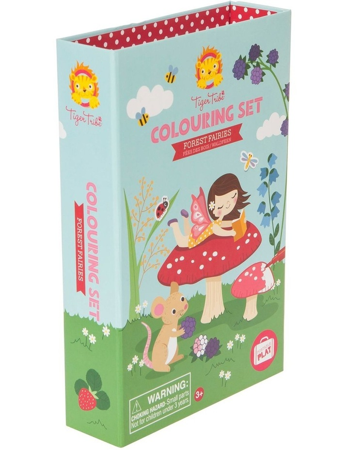 Colouring Set - Forest Fairies image 1