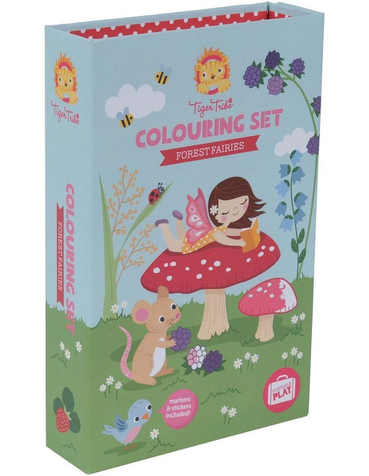 Colouring Set - Forest Fairies image 5