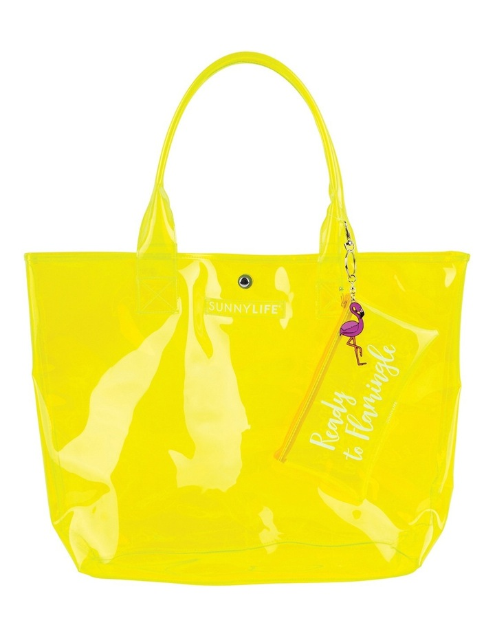 Market Bag Neon Yellow image 1
