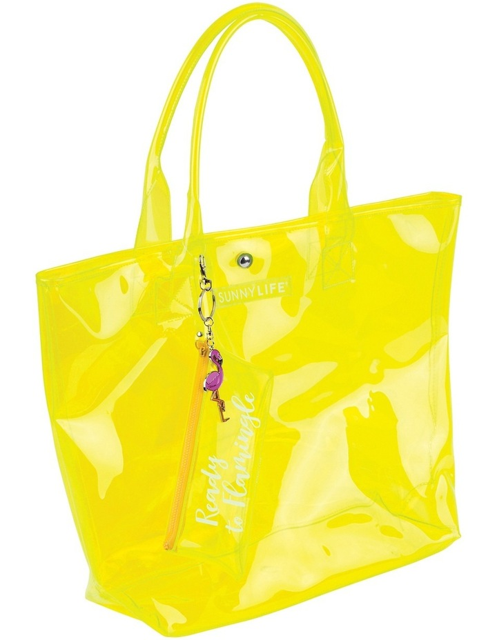 Market Bag Neon Yellow image 2