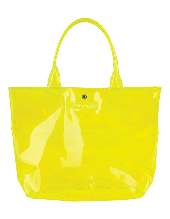 Market Bag Neon Yellow image 3