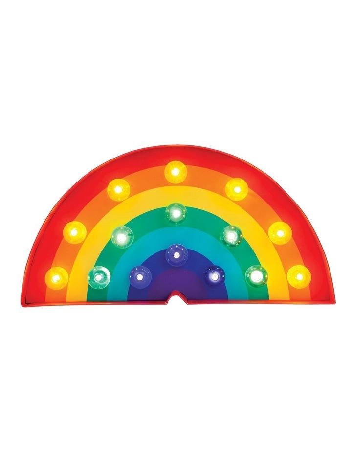 Rainbow Marquee Light image 1