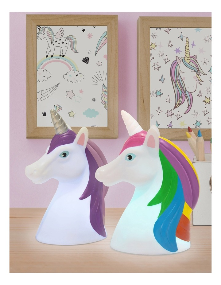 Illuminate - Unicorn Head LED Light (9/Disp) image 3