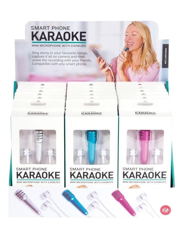 Smart Phone Karaoke Microphone & Earbuds Assortment image 1