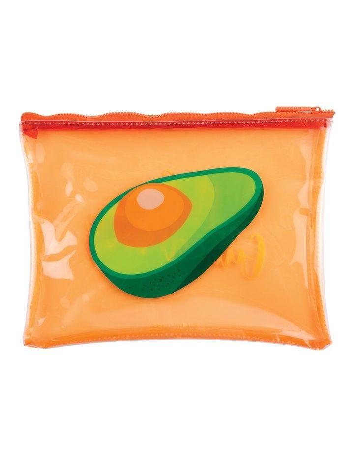 See Thru Pouch Avocado image 1