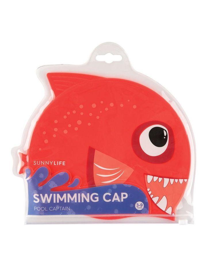 Swimming Cap Fishy Red image 2