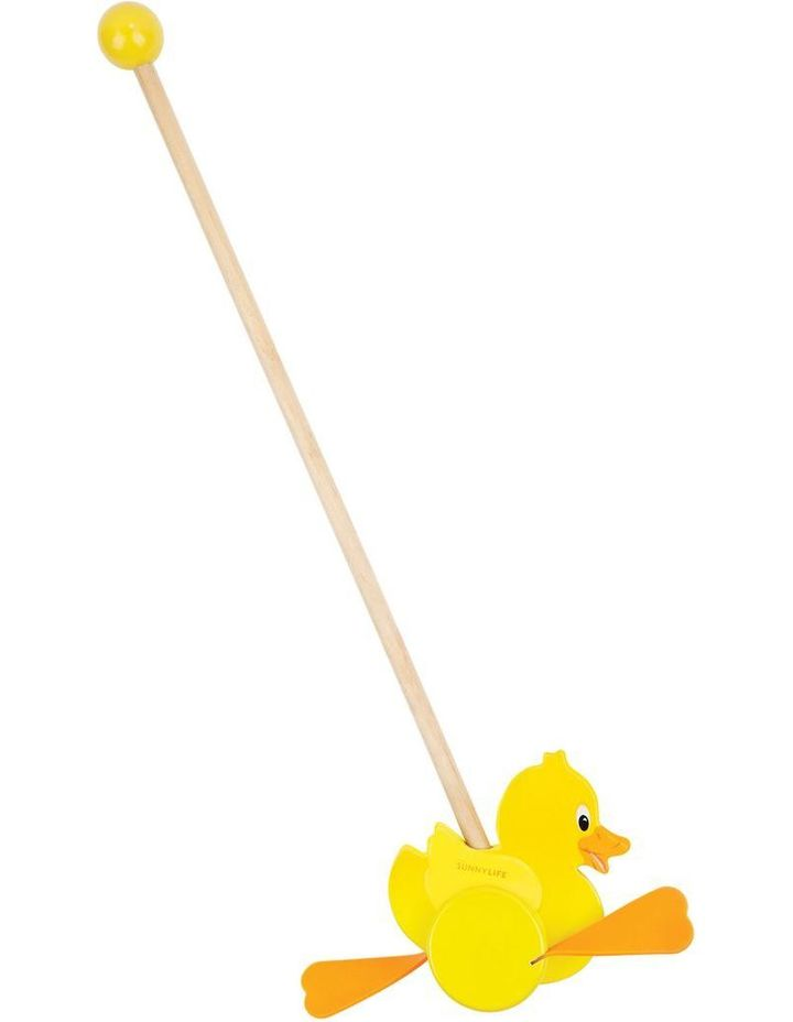 Push Along Toy Ducky image 1