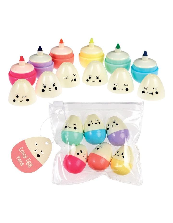 Highlighters Emoji Egg - 6 Set image 1