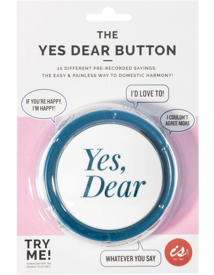 Is Gift The Yes Dear Button image 4