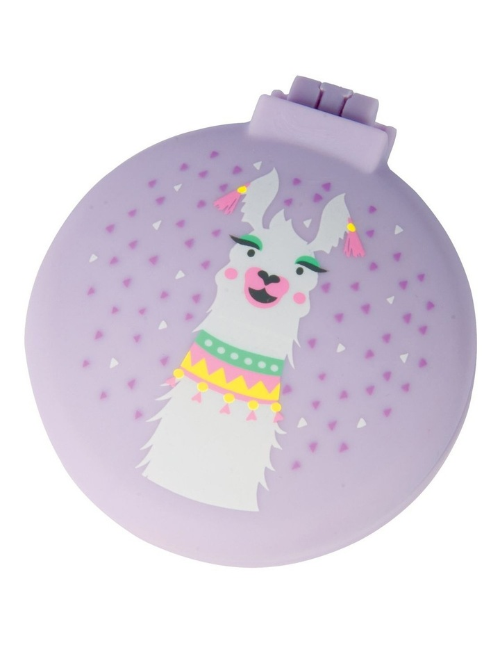 Is Gift Llama - Hairbrush And Mirror image 1