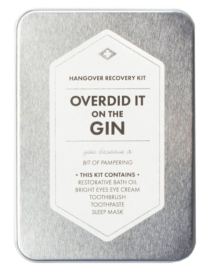 Hangover Recovery Kit - Overdid It On The Gin image 1