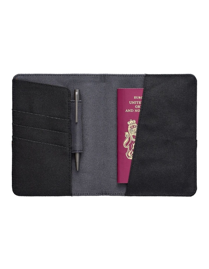 Travel Wallet Black & Grey image 3