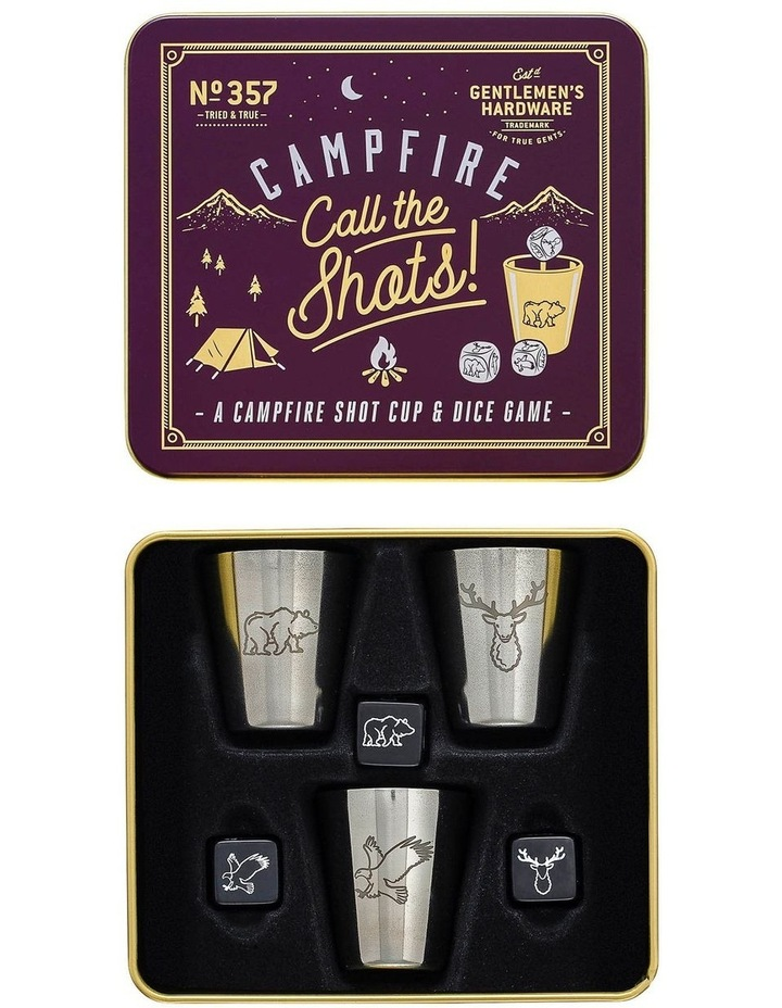 Campfire call the shots - shot cup and dice game image 2