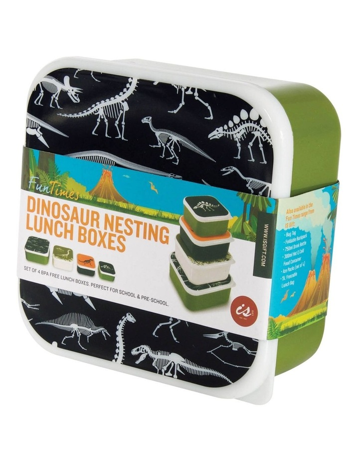 Fun Times Nest Lunch Boxes - Dino (Set of 4) image 1