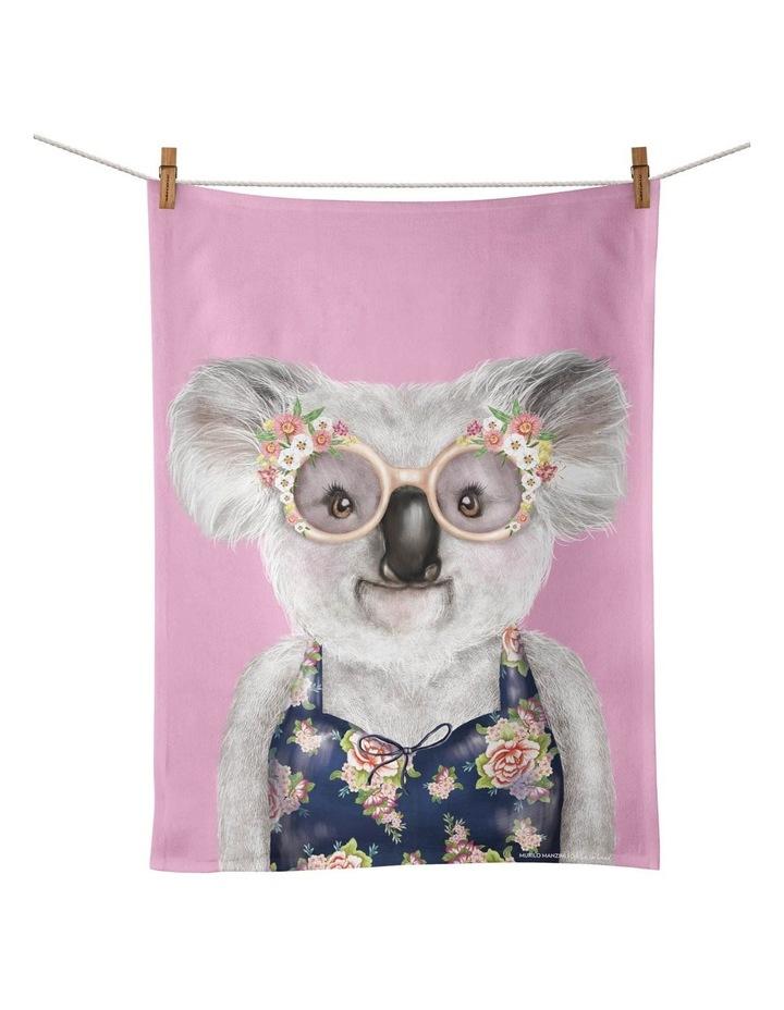 Sunshine Lovers Bather Tea Towel image 1