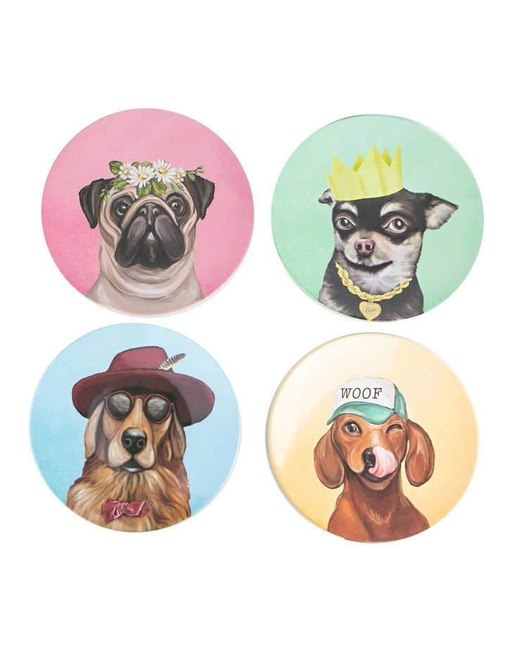 Canine Feast Melamine Plate Set image 1
