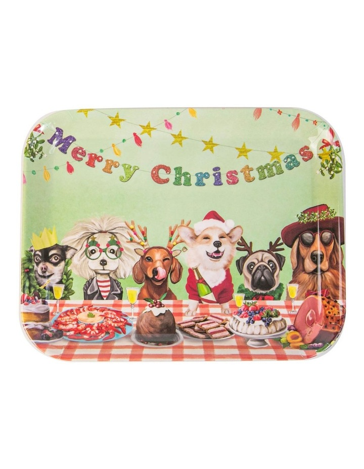 Canine Feast Melamine Tiny Things Tray image 1