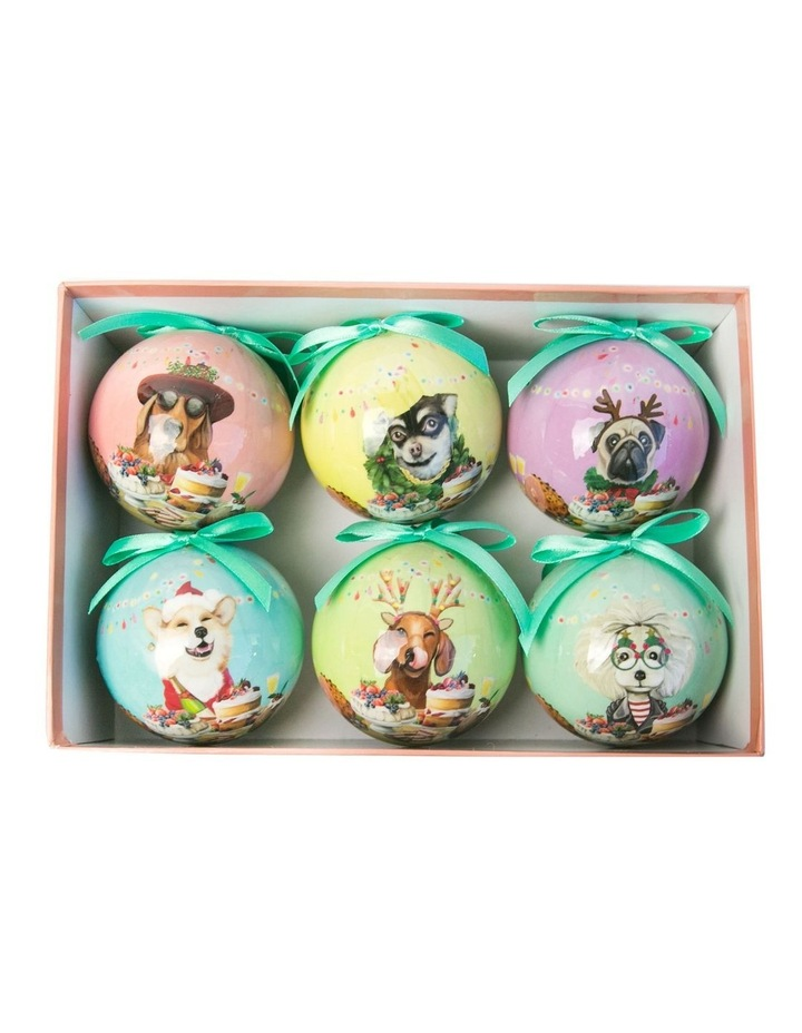 Canine Feast Bauble Set image 1