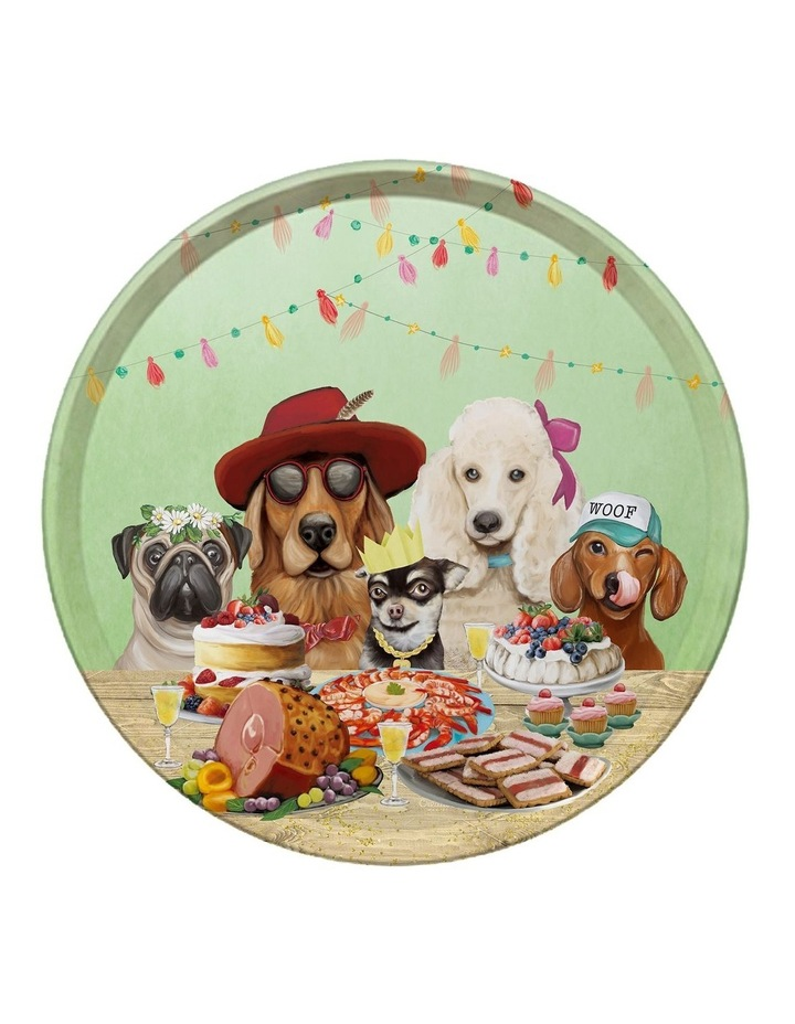 Canine Cuties Round Tin Tray image 1