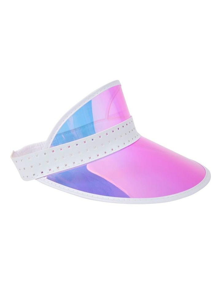 retro-sun-visor-pink-iridescent by sunnylife