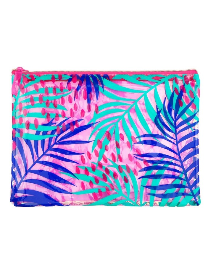 See Thru Pouch E. Bloom Pink image 1