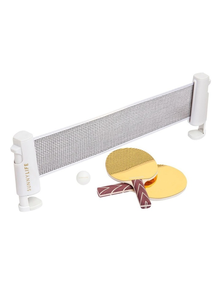 Play On Table Tennis Mirror Gold image 1