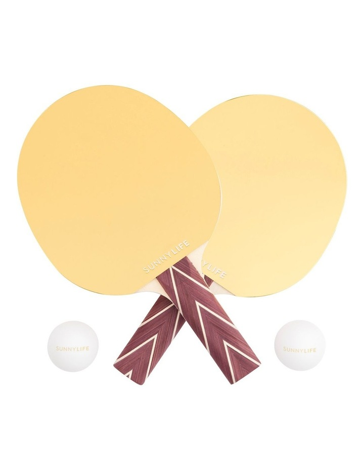 Play On Table Tennis Mirror Gold image 2