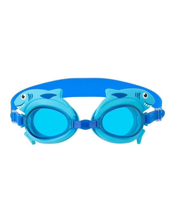 Shaped Swimming Goggles 3-9 Shark image 1