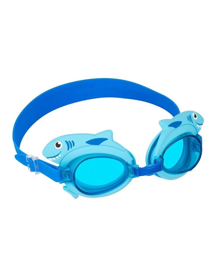 Shaped Swimming Goggles 3-9 Shark image 3