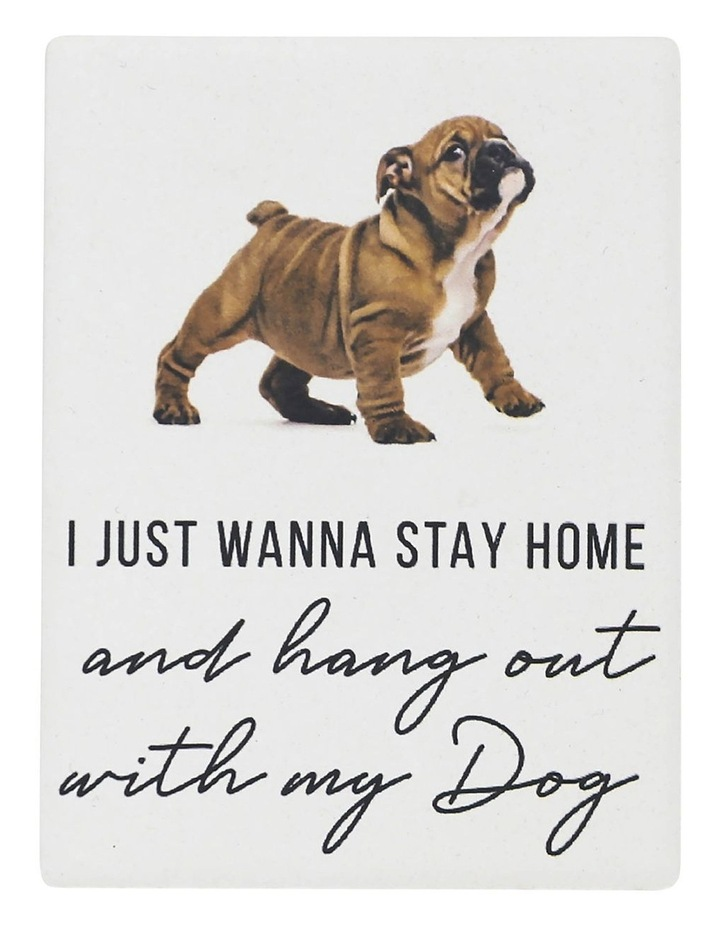 Stay Home Pet Magnet image 1
