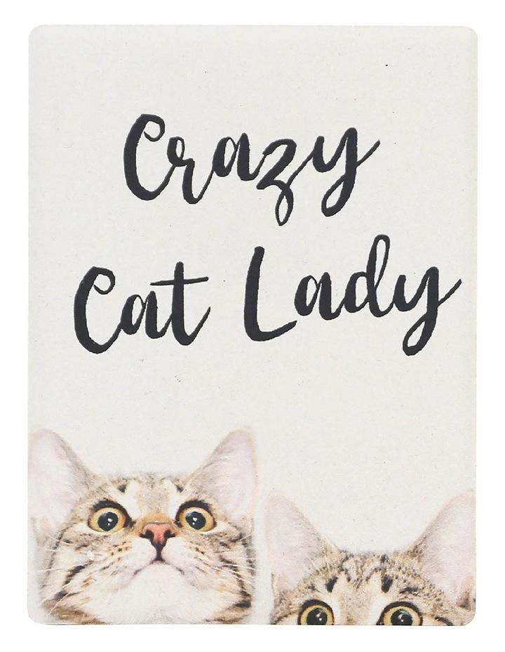 Cat Lady Pet Magnet image 1