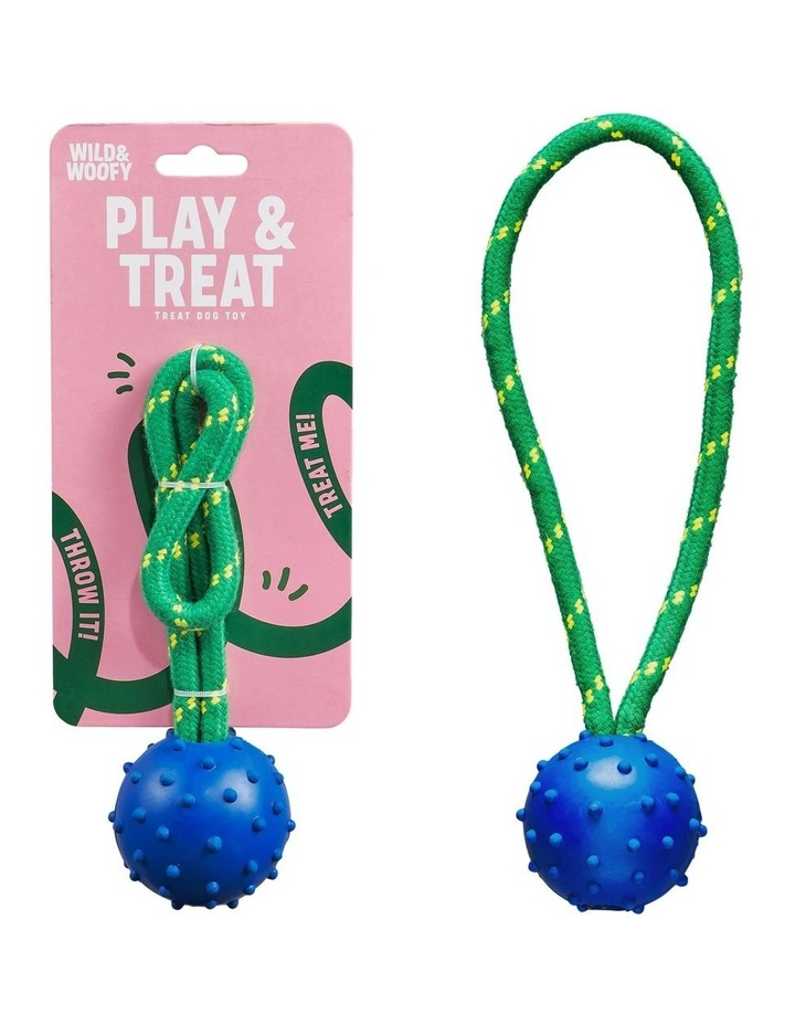 Dog Toy - Fetch & Treat image 2