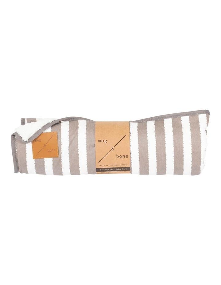 Blanket Latte Hamptons Stripe image 1