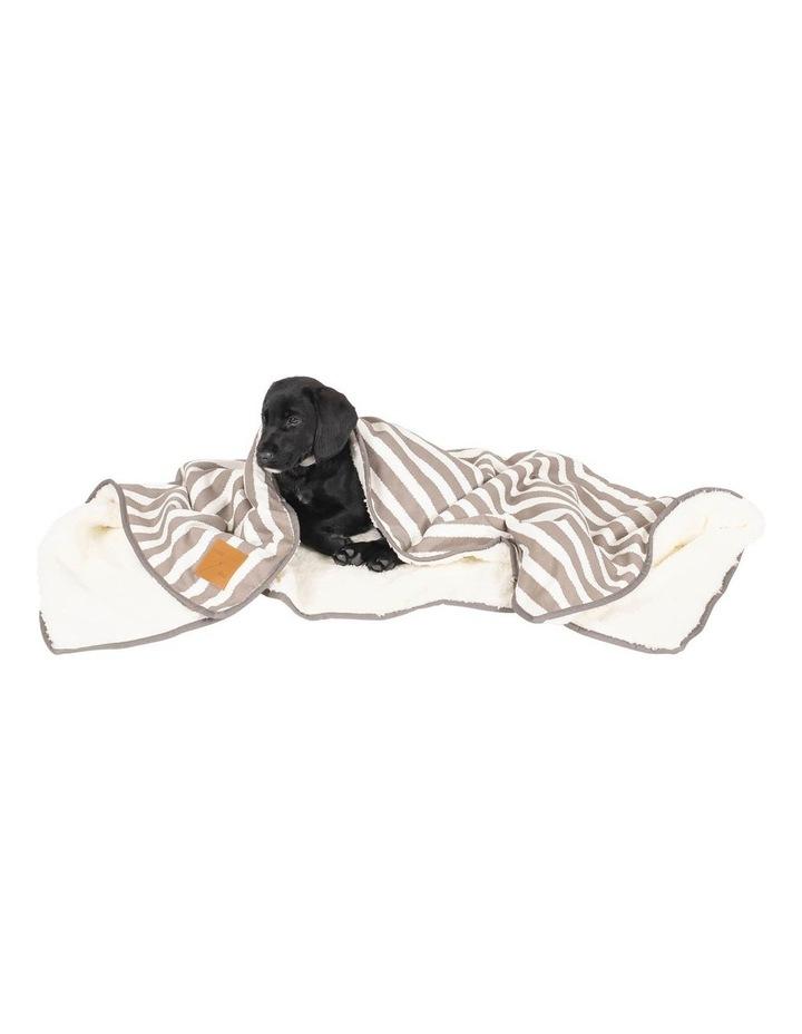 Blanket Latte Hamptons Stripe image 2