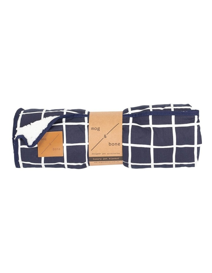 Blanket Navy Check image 1