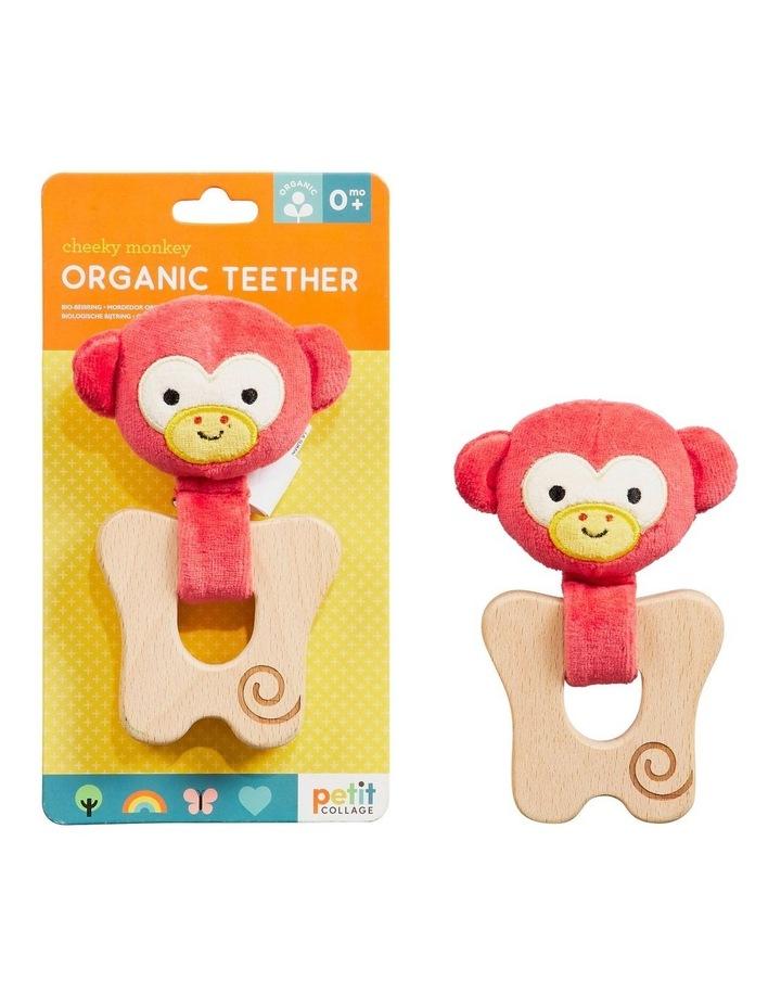 Organic Teether Monkey image 1