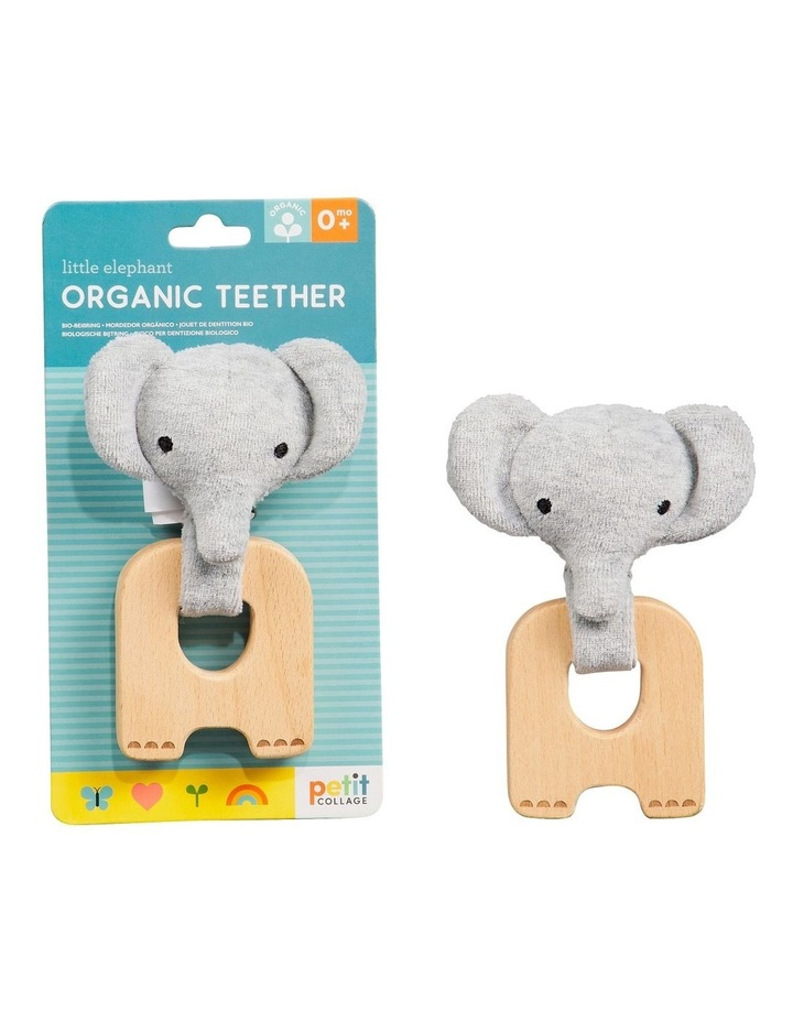 Organic Teether Elephant image 1