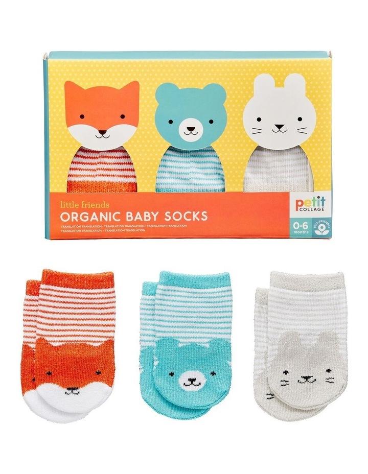 Organic Baby Socks (set of 3) image 1