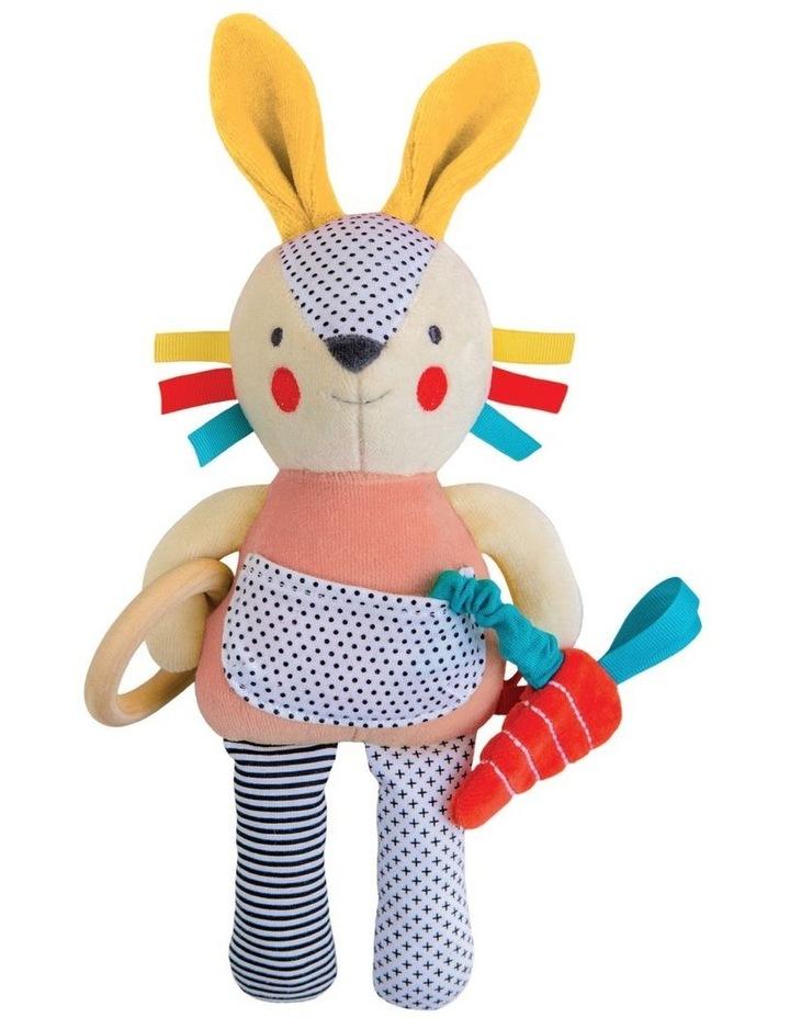 Organic Baby Developmental Soft Toy - Bunny image 1