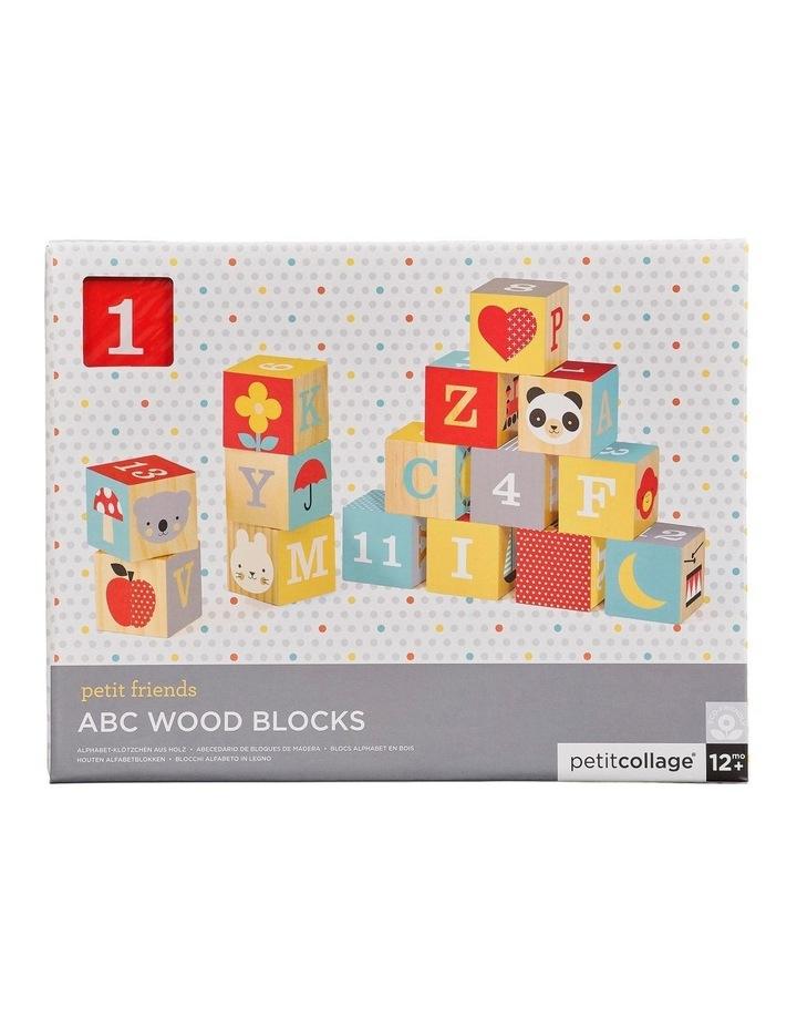 ABC Wood Blocks image 1