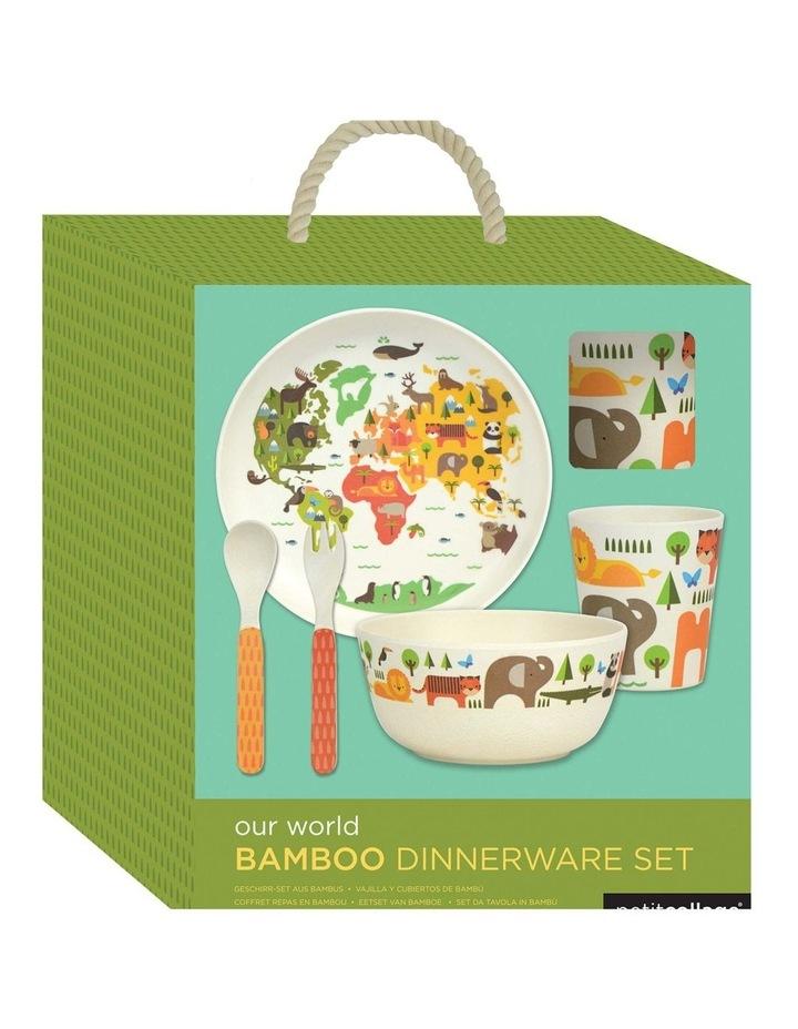 Eco-Friendly Bamboo Dinnerware - World image 1