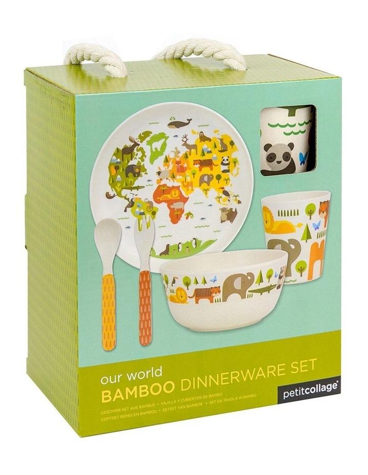 Eco-Friendly Bamboo Dinnerware - World image 2