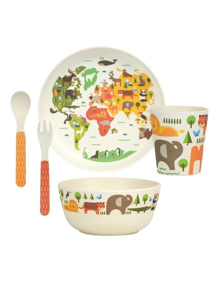 Eco-Friendly Bamboo Dinnerware - World image 3