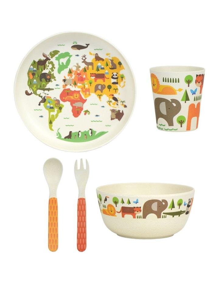 Eco-Friendly Bamboo Dinnerware - World image 4
