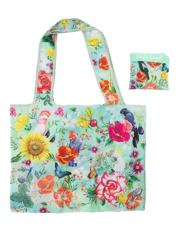 Foldable Shopping Bag Secret Garden Birds image 1