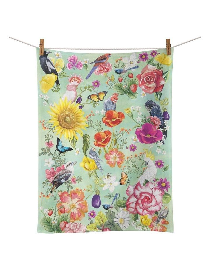 Tea Towel Secret Garden Birds image 1