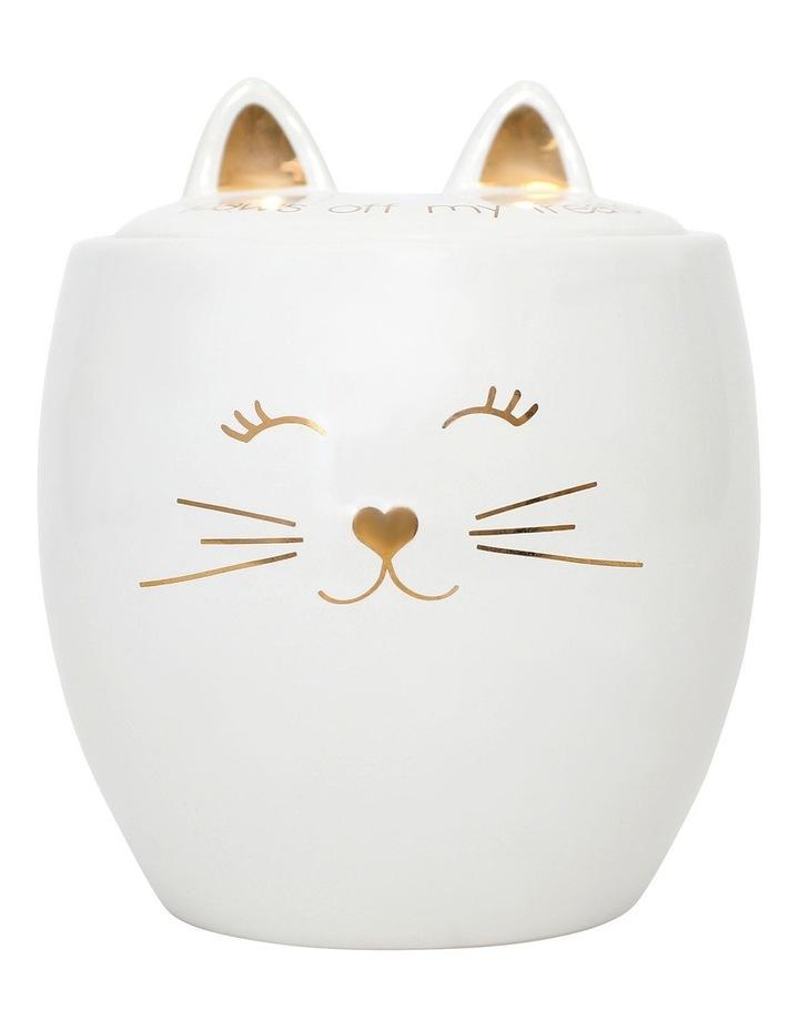 Pet Cat Treat Jar image 1