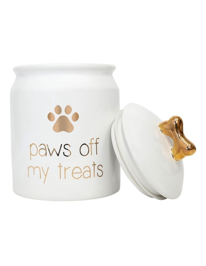 Pet Paws Off Treat Jar image 3